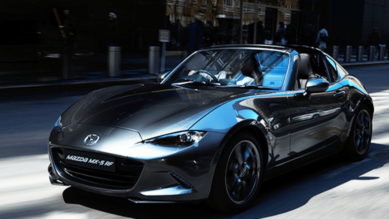 Mazda Extends the Miata Franchise With a Slick Retractable Roof and Seductive Lines