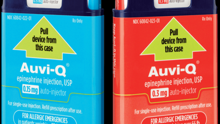 Express Scripts, Cigna Opt Out of Paying for EpiPen Competitor Auvi-Q