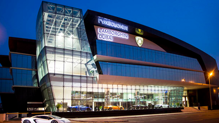 Lamborghini Just Opened Its Largest Dealership in the World, and Of Course It's in Dubai