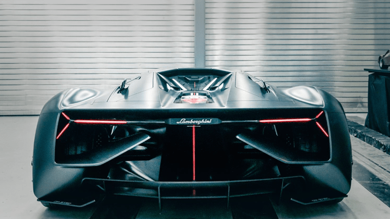 Now That's a Sports Car: Lamborghini's Electric Terzo Millennio