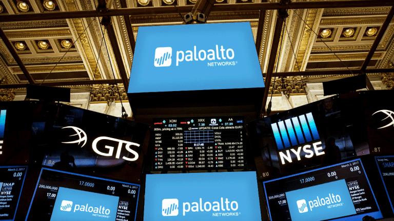 Buy Palo Alto Networks on Its Short-Term Weakness