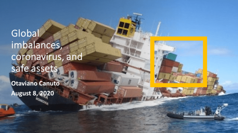 Global imbalances, coronavirus, and safe assets