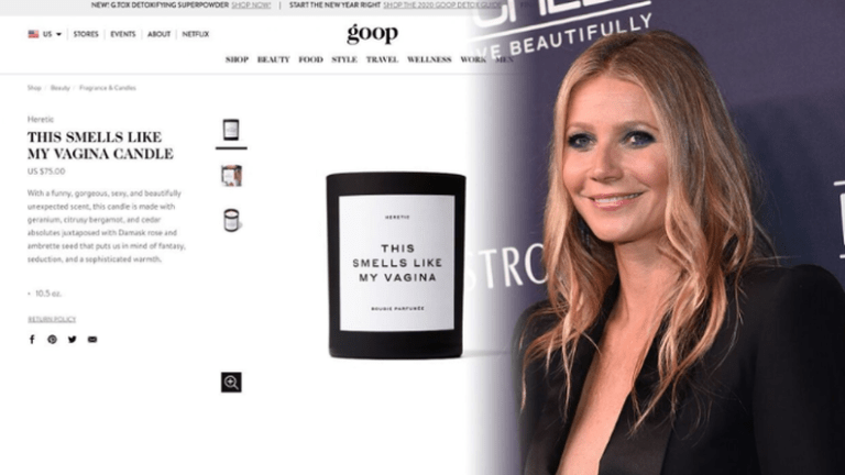 Gwyneth Paltrow's $75 Vagina Scented Candle Is Already Sold Out