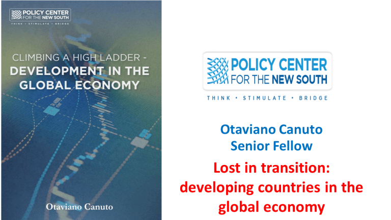 Lost in transition: developing countries in the global economy