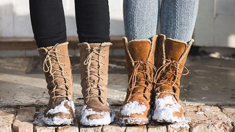 Womens Short Winter Boots