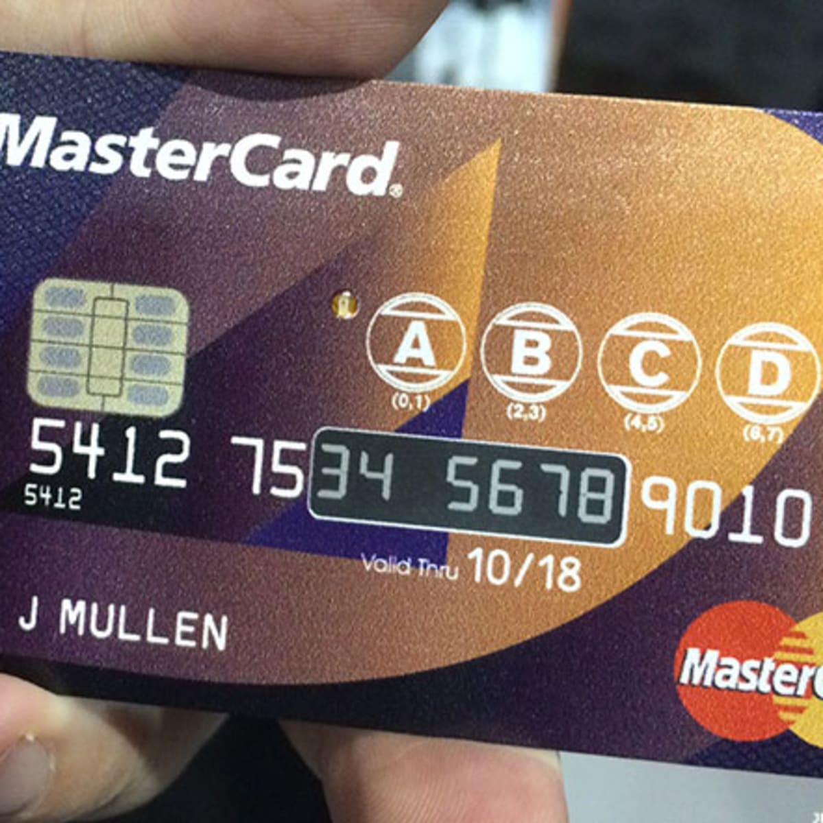 MasterCard Announces a Credit Card Even A Security Fanatic Can