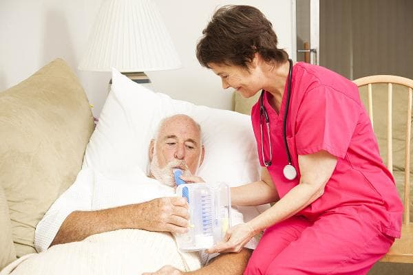 25. Respiratory TherapistsGrowth rate through 2026: 23.4%2016 median pay: $58,670Respiratory therapists care for patients who have trouble breathing,such as fromasthma or emphysema. To become one, you'll need an associate's or bachelor's degree, and a license is required in most states.Photo: Shutterstock