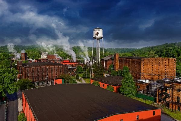 The property is a national historic landmark. Photo:Buffalo Trace Distillery