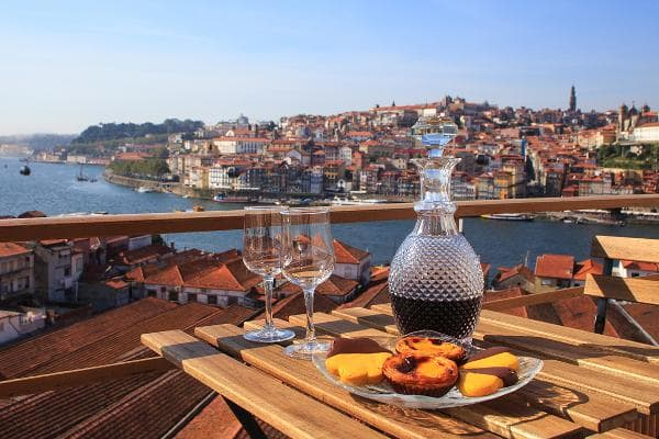 Porto, PortugalLocal specialities: Port wine and seafoodPhoto: Shutterstock