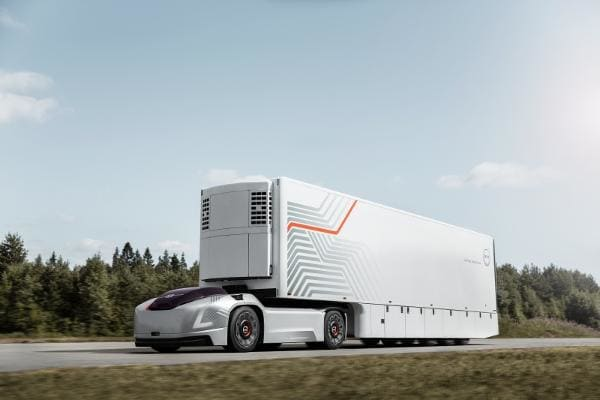 Autonomous driving may seem like a cool concept for those who have intermediate to long commute times. However, don't rule out autonomous trucking solutions for logistic providers. This Is When You'll See Autonomous TruckingBy cutting down personnel and fuel costs, these companies are in position to maximize efficiency and improve safety. The whole industry is paying attention to autonomous capabilities, but a few are getting starting.Volvo recently introduced its Vera semi truck, while Einride is a company we met with at the 2018 Detroit Auto Show. Sweden's Einride showed up with its much hyped T-Pod. The Optimus Prime looking electric vehicle is self-driving. It is capable of carrying 15 pallets of goods 124 miles while giving off zero emissions. Not too shabby. Einride believes that by 2035, 20% of Sweden's road transports are via T-Pods.Both show off a unique vehicle profile, given that neither of them has a cab for the driver. That differs from the Tesla semi truck, which does have a cab for its driver.