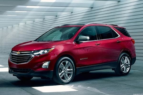 Starting price: $23,580Vehicles sold in 2017: 290,458Buyers are already into crossover SUVs, but GM's updates for 2018 increased sales of its flagship crossover 20% in 2017 despite falling sales for GM overall. The 2018 Equinox is now 400 pounds lighter than the original, is down to a 1.5-liter 4-cylinder engine and has shrunk cargo space down to 30 cubic feet with the seats up and 63.5 with them down. Total mileage of 33.5 mpg, including nearly 40 mpg on the highway, turned out to be a nice tradeoff for the Equinox's overall smaller stature.