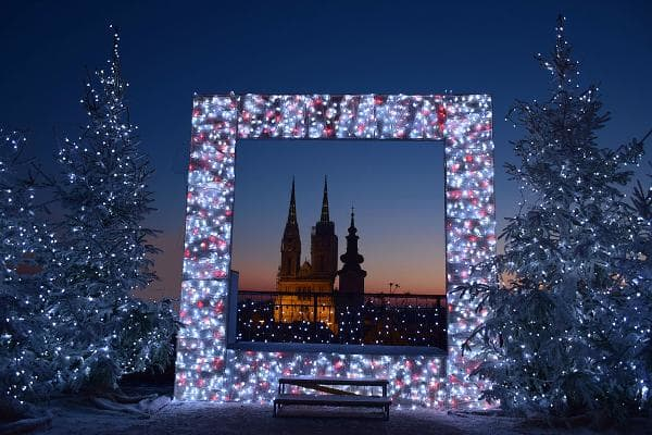 Zagreb, CroatiaDates: Dec. 1, 2018 - Jan. 6, 2019This lesser-known Christmas market tops the list as one of the best in Europe. At its center is the Gothic, twin-spired Zagreb Cathedral, above, and 13th-century St. Mark's Church. During the holiday season, the huge main square sparkles brightly with music and concerts on an open-air stage, food marquees and children's entertainment. There's a huge Christmas tree, the fountain is transformed into a light display and there is a cozy, heated, covered conservatory serving food and drinks.Photo: Shutterstock