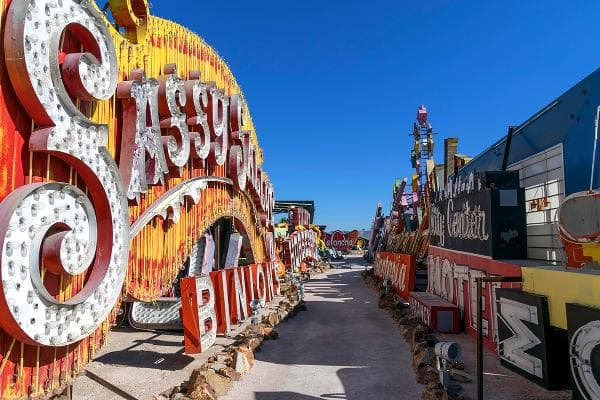 Neon Boneyard and Neon Museum, Las VegasThis is where neon signs go to die. They are rescued by this non-profit museum which displays and restores them.Photo:Rosemarie Mosteller / Shutterstock