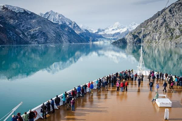 Alaska (Cruise): 47.9%Of the travel agents surveyed, 47.9% booked Alaska cruises.Photo: Shutterstock