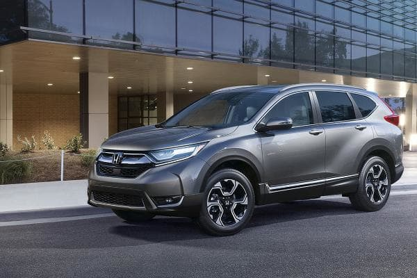 "Honda CR-VStarts at: $24,250MPG: Up to 28 city / 34 highwayHonda has been making this popular compact crossover SUV since 1995. Car and Driver calls it ""excellent"" and a ""compact-crossover valedictorian.""Photo: Honda"