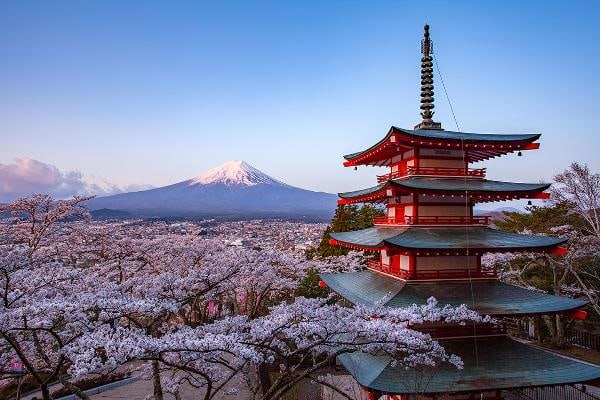 Top 5 Emerging Destinations:1. Japan Japan tops the list of emerging destinations for the first time. Tokyo is one of the top cities visited.Photo: Shutterstock