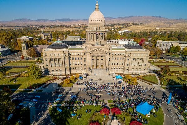 1. IdahoFirearms Industry Rank: 2Gun Prevalence Rank: 4Gun Politics Rank: 5Idaho tops the list as the state most dependent on the gun industry, according to WalletHub's study. The state also has the most firearms industry jobs per capita, tied with New Hampshire and Montana. Taxes paid by the firearms industry (per capita) are fourth highest in Idaho, and the state is third for highest gun ownership.Photo: Shutterstock