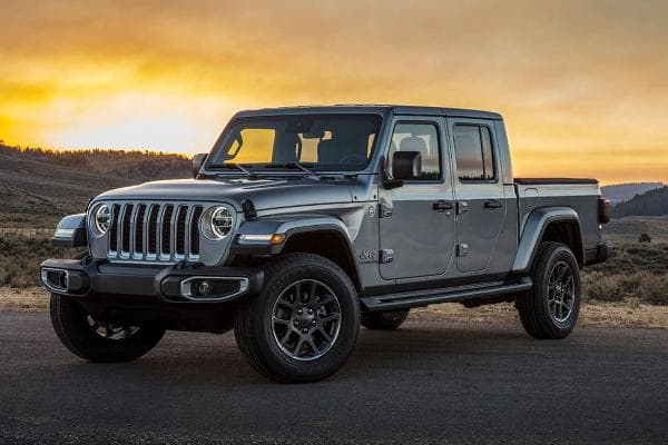 New and Redesigned Cars, Trucks and SUVs for 2020:2020 Jeep GladiatorStarts at: $33,545This is a classic off-roading, convertible Jeep that blends SUV with a pickup truck. So if you like Jeeps, and you like pickups, this is for you. It offers best-in-class towing capacity for the mid-sized truck segment, according to KBB, along with lightweight, high-strength steel and aluminum body-on-frame construction.Photo: Jeep