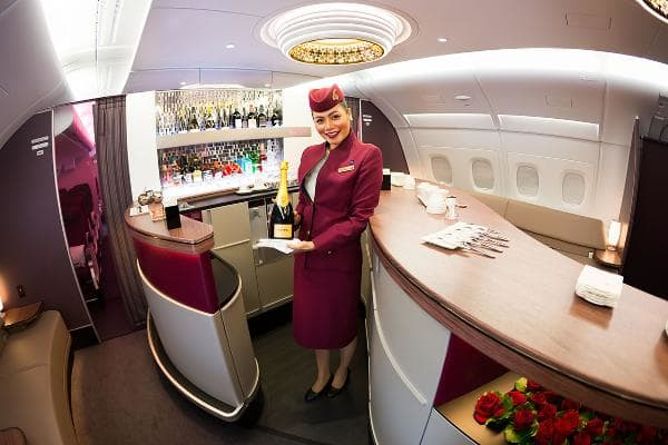 1. Qatar AirwaysOverall score: 8.23 /10On-time performance score: 8.4Service quality score: 8.5Claim processing score: 7.8Topping the list is the state-owned Qatar Airways, the flag carrier of the Persian Gulf country.Photo: Dmitry Birin / Shutterstock