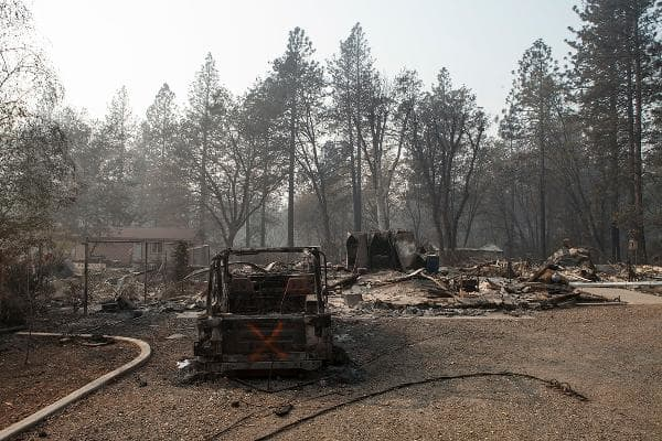 Camp FireParadise, Calif., U.S., November, 2018Deaths: 85Cost: $16.5 billion total ($12.5 billion insured, $4 billion uninsured)California's deadliest and most destructive wildfire was one of the costliest disasters in the world in 2018, and high on the list of the world's deadliest fires ever. The fire, which started in the early hours of Nov. 8 in extremely dry and windy conditions, quickly swept through the northern California town of Paradise (pop. 27,000), sending thousands fleeing for their lives along the few escape routes. It left 85 dead, burned 153,336 acres, including nearly 14,000 residences and more than 4,800 other buildings, leaving almost nothing left of the town.Photo: Senior Airman Crystal Housman/ U.S. Air National Guard