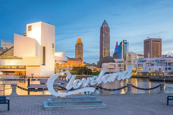1. ClevelandTotal annual expenditures: $38,147Percent of seniors: 13.3%Livability score: 61Median home value: $55,300Taxes: Ohio does not tax Social Security Photo: f11photo / Shutterstock