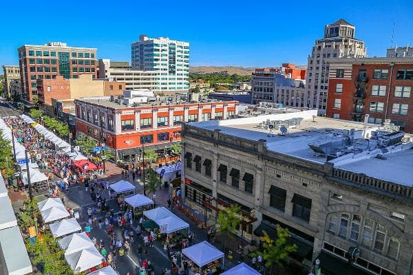 1. Boise, IdahoPopulation: 214,196Median gross rent: $870Est. median household income: $55,199Est. median house or condo value: $219,200Photo: Shutterstock