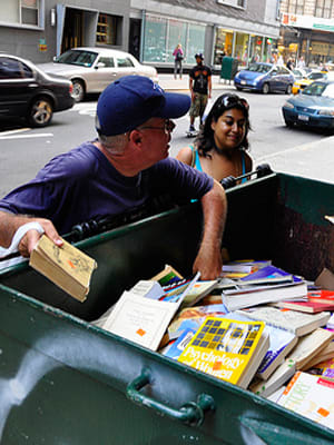 The holiday rush may be over, but if you're still searching for the perfect gift, maybe you should try looking in the nearest garbage can. Okay, we admit this sounds like something you'd only do if you were very desperate, but these days, more and more of us fall into that category. Beyond that, you can find some pretty great stuff in the trash. In fact, there have been enough amazing finds in the trash to make even the most clean cut citizens consider taking a dive into a nearby dumpster. Here are 14 of the coolest trash finds and the stories behind them. Photo Credit: SpecialKRB
