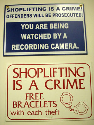 Shoplifting is on the rise and it may be costing you money, even if you don't own a store. According to the 2009 Global Retail Theft Barometer Study, 41.2% of retailers worldwide experienced a significant increase in shoplifting this year, largely spurred by the recession. In the United States alone, retail crimes, which primarily include shoplifting and employee theft, resulted in a net loss of $42.2 billion, from June 2008 through June 2009. Yet, as CNN Money reports, the loss was often passed on to American consumers. Each family was forced to pay approximately an extra $435 when purchasing these items because retail stores raised prices to compensate for money lost from stolen goods. Worst of all, as the study emphasizes, there are relatively few protections in place for the most shoplifted items, just the basic surveillance systems. Since we are all essentially picking up the tab for many of these items, we might as well see what we've bought. Here are some of the most shoplifted items of the past year. Some will undoubtedly surprise you. Photo Credit: Daquella manera