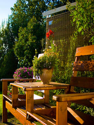 Having a nice backyard is one way to increase the value of your home. According a study done by the American Nursery & Landscape Association (ANLA) in 2009, the perceived value of a property may increase by 5% to 11% when owners take the time to upgrade their landscape. And given our still suffering real estate market, it's important to get the most money you can out of your home. Beyond that, if you have no plans to move, but are looking to spruce things up without emptying your bank account, you'll be happy to know that you've got plenty of options Here are a few ways to improve your backyard on a budget. Photo Credit: combust