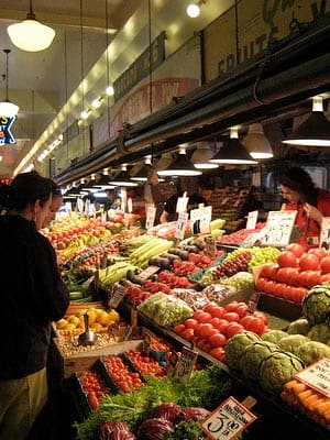 """Mom always told us to eat our fruits and veggies, but these days some items in the produce aisle can tip the scales when it comes to price. So what determines which produce is cheap, and which costs a hefty load? """"It really comes down to supply and demand,"""" says Robert Schueller, director of public relations for Melissa's, a specialty produce distributor. """"Many higher-priced items aren't demanded as much, often because they have been recently introduced into the U.S. and the public isn't educated about them yet. If bananas weren't the number-one fruit in America, we wouldn't be paying just 50 cents a pound or less for them."""" Shelf life can also play a role in cost. """"All fruits are perishable, but produce that goes bad more quickly is often more expensive than hardier types,"""" Schueller adds. Which produce is the priciest of all? Read on for the top 10 according to industry averages, and see if your favorites made the list. Photo Credit: Daniel Morrison"""