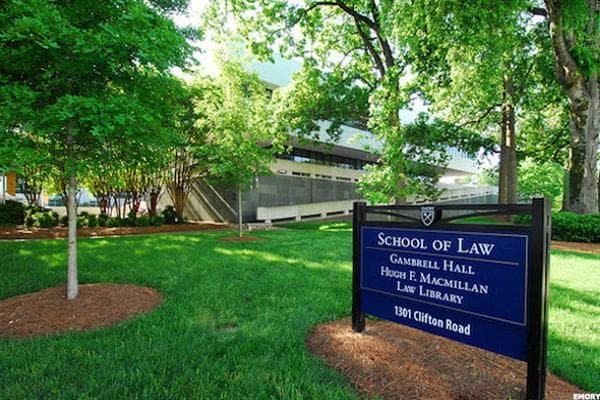 A juris doctor fresh out of Emory in Atlanta can expect a median early career pay of $65,900, which may prove unworkable right away with the student loans that inevitably hang over the heads of young lawyers. But, wait a little while and the median mid-career pay jumps to $195,000 per year-meaning your ability to pay it down and live your life grows exponentially.