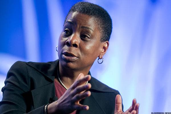 """XeroxMarket Cap: $9.9 billion Year-to-date return: -8.1%Xerox is undergoing a transformation and plans to split into two publicly traded companies:Xerox, a document technology company and, Conduent, a business processing outsourcing company.When the split is complete, Ursula Burns will step down from the CEO position of Xerox and Jeffrey Jacobson, 56, will replace her. The split is expected to be completed by the end of 2016. Burns will remain as chairman of Xerox after the split, butthe company expects her to retire as chairman as of the 2017 annual shareholders' meeting, according to a May 20 filing with the Securities and Exchange Commission.Jacobson joined the company in 2012 and currently serves as president of Xerox Technology.Burns, 58, is a lifelong Xerox employee. She started out as an intern in 1980 at the Norwalk, Conn.-based company and worked her way up the ranks over the years. Burns was named chief executive of Xerox in 2009 and added the chairman position in 2010.Burns' total target compensation for 2015 was $10.6 million, according to Xerox's proxy filing.Following the transition, Burns' base salary will be $900,000 per year. In addition, Burns' """"target bonus will be 150% of her base salary and her 2017 long term incentive award value will be a maximum of $5 million, each of which will be prorated based on the length of time she serves as Chairman in 2017,"""" the company said in the May 20 filing.Ashok Vemuri, who joined Xerox on July 1, will become the CEO of Conduent once the split is complete. He currently serves as CEO of Xerox Business Services and is an executive vice president of the company."""