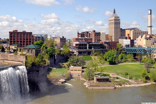 Rochester, N.Y. generates a return of 17.7%.