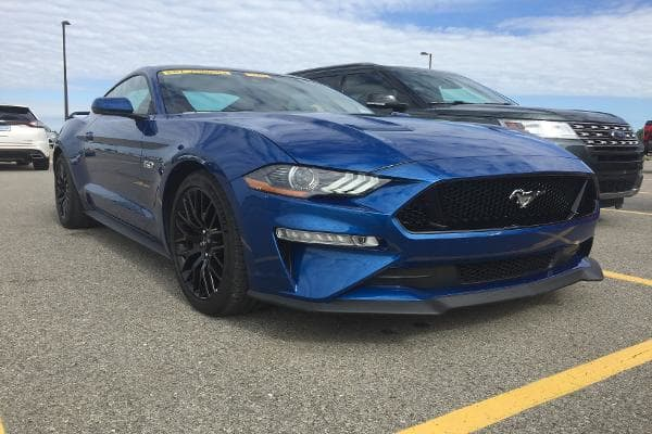 Here's the upgraded 2018 Ford Mustang EcoBoost.