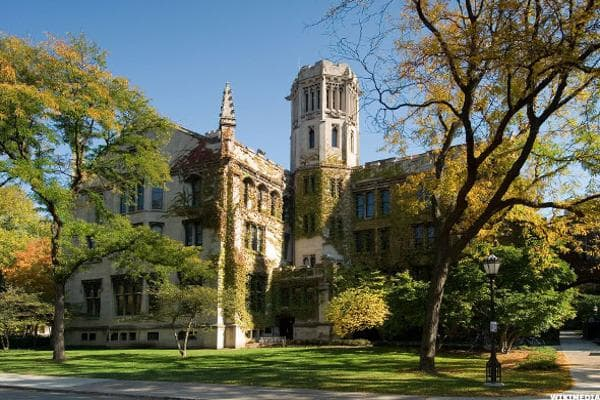 Located in the windy city, the University of Chicago rounds out the top 10 with notable attendees including Oracle's co-founder Larry Ellison, film critic Roger Ebert, and American banker David Rockefeller.