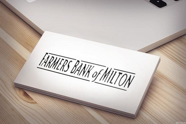 Farmers Bank of Milton is headquartered in Milton, Ky. and offers a rate of 3.0%.