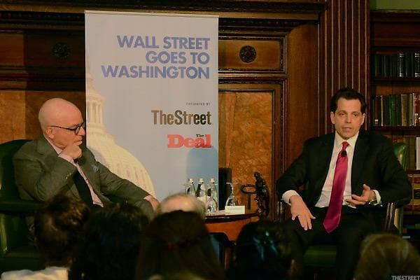 """What does Wall Streetlove about Donald Trump? The overarching question at hand for the evening was readily answered.""""[Wall Street] sees a cleansing of the status quo in Washington -- they see a disruption of this tidal wave of regulation that's going to be rolled back,"""" said Anthony Scaramucci."""