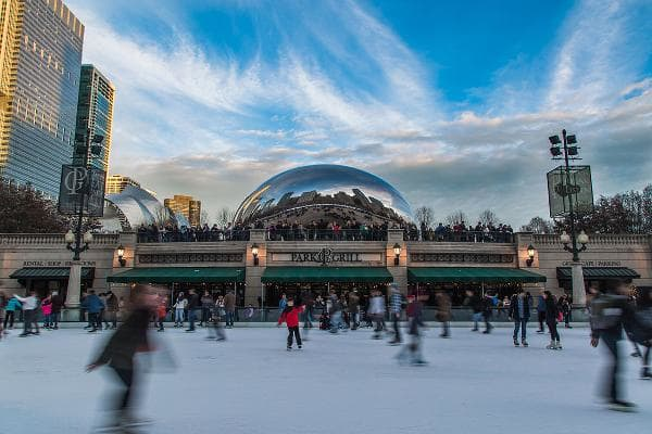 The Best Cold Weather Winter Destinations:1. ChicagoTravel costs and hassles rank: 4Local costs rank: 11Attractions rank: 4Weather rank: 23Cold weather activities rank: 1Safety rank: 18 Chicago doesn't mess around when it comes to winter. It has the highest number of cold weather activities of all of the cities, and is pretty hassle-free when it comes to travel. There's a variety of free skating rinks and sledding hills, as well as a range of snow parks nearby. Chicago is also loaded with music and theater venues and restaurants.Photo: Radoslaw Lecyk / Shutterstock