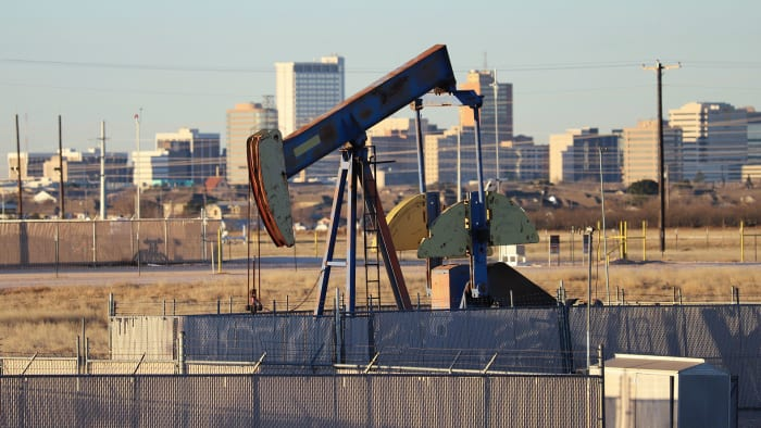 Jobs at risk: 46,618Share of all jobs in U.S.: 0.2%Share of jobs in this metro: 42.5%The oil-and-gas town of Midland, Texas is the most likely to be affected with more than 42% of its jobs in peril.