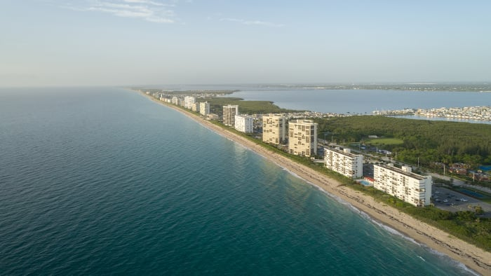 florida, beach, town, real estate, sea level