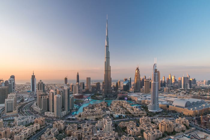 Dubai, United Arab EmiratesHeight in meters: 828Height in feet: 2,717Floors: 163Year completed: 2010Office / residential / hotel