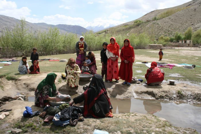1. AfghanistanETR count: 6 (high)The country is exposed to water stress, food insecurity, floods, droughts and rapid population growth. Afghanistan is ranked the least peaceful country globally.