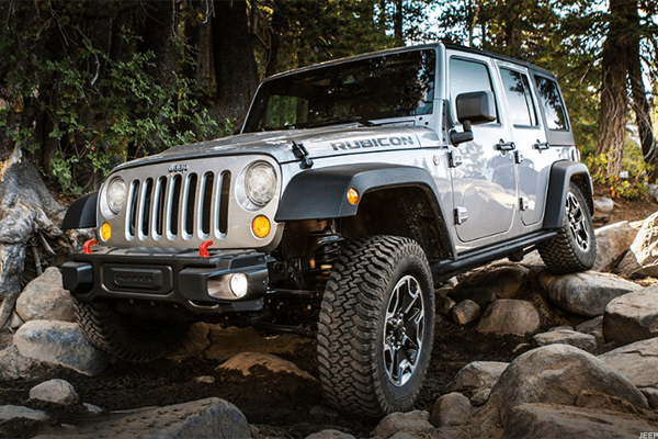 Starting price: $38,445We don't know what's up with the '90s extreme theme restaurant name, but the Jeep Wrangler's Rubicon package has been the gold standard for this 4x4's off-road capabilities. It's the Jeep you see with the doors off long before it gets to the dunes or onto the beach. It's the Jeep with the spot for a winch already built into the front bumper -- which already has fog lamps and removable caps. The rock rails, the slush mats, the low crawl speed, the locking differentials, the skid plates, the disconnecting sway bar for uneven terrain, the tow hooks... all of this makes the Rubicon an easy off-road entry point.