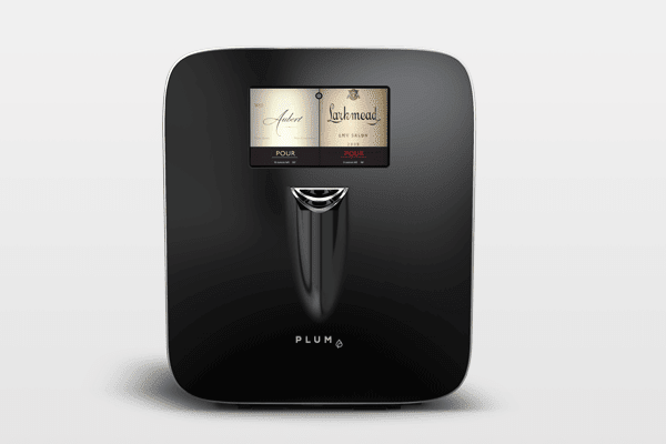 "The brand-new Plum* wine appliance bills itself as the first super-automatic ""gizmo"" that computerizes the preservation and serving of wine, capable of delivering it precisely as the vintner envisioned. Measuring about 15"" x 17"" x 21"" (and 45 pounds), it can hold two 750 ml bottles of wine in its stainless steel cradles, where a camera faithfully scans the label, verifying vintage, varietal, region and winery. As if a wizard with a wand were lurking inside the appliance, the bottle is pierced-cork or screw-cap-then pressurized with argon gas. Stainless tubing delivers the wine and preserves the open bottle for 90 days. An external touch screen allows the user to pour a tiny taste or a glass...and then, miraculously the machine cleans itself when the bottle is exhausted, readying itself for the insertion of Bacchus' next offering .$1,499; plum.wine*Shipping early 2017, but the company will send an under-the-tree gift with an Austrian, mouth-blown, lead-free Zalto wine glass with pictures and a promise of the machine-to-come."