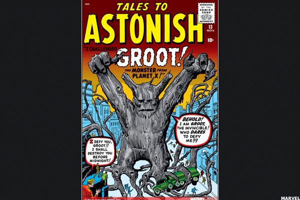 Value: $4,000Price gain: 648%Don't doubt the value of a talking tree.Before Groot was riding with Star Lord and the other Guardians of the Galaxy, he was saving us from aliens from the Planet X in Atlas Comics -- a precursor to Marvel. Behind artist Jack Kirby's stark imagery and writer Stan Lee's imagination, Atlas laid the foundation for one of the greatest comic empires of all time by simply churning out sci-fi titles like Strange Tales, Amazing Adventures and World of Fantasy.At a time when the label's superheroes were limited to holdovers like Captain America, The Sub-Mariner, Marvel Boy and the original Human Torch, other genres brought in the cash. Groot wasn't meant to be a superhero but, as the years progressed, the job just found him.Meanwhile, if you invested the $535 the book was worth in 2008 into the S&P instead, you'd have just $1,200. Bet it on gold, and you'd get just $1,100.