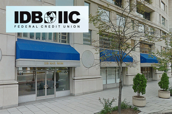 IDB-IIC Federal Credit Union is headquartered in Washington, D.C. and offers a rate of 2.625%.