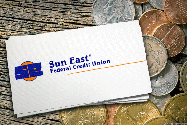 Sun East Federal Credit Union is headquartered in Aston, Pa. Southbridge, Mass. and offers a rate of 2.875%.
