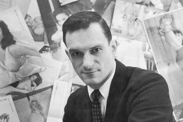 In 1953 Hugh turned $8,000 from 45 investors, including $1,000from his mother, into Playboy magazine.
