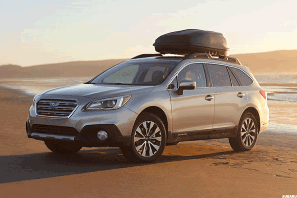 Starting price: $25,645Combined miles per gallon: 29.4Cargo capacity: 35.5 cubic feet with all seats up, 73.3 maximumThe newer models look more like larger SUVs than lacrosse wagons, but the standard all-wheel drive that routinely draws fans from wet and snowy locations remains. The Outback's combined 29 miles per gallon aren't great, but that cargo space and the EyeSight and driver's assistance systems make it a perennial family favorite.