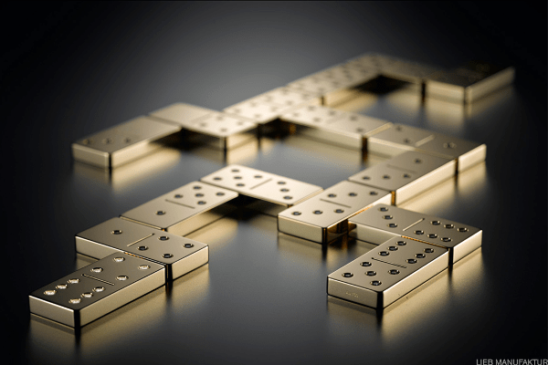 """Price: $175,253You could either look at this as a commodity investment or as some kid's tabletop domino rally that will cost more than some folks pay for a starter home. Created by Lieb Manufaktur in Baden-Württemberg, Germany, this set of 28, five-pound, 18-karat """"solid gold"""" dominoes is encrusted with 168 diamonds totaling 15 carats. We're just going to come right out and say that, at the current price of more than $1,300 an ounce, we have serious doubts about the """"solid gold"""" portion of this sale. However, if you want a bunch of folks to believe that you have a stash of what are essentially gold-bar dominoes kicking around your house, go right ahead. Just don't come crying to us when one of your fellow Bond villains thinks your dominoes feel a bit light."""